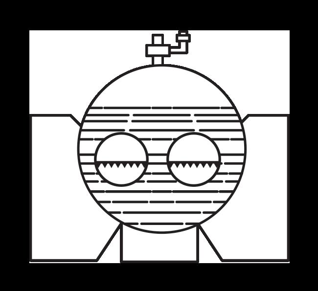 Схема первого парового котла с внутренней топкой